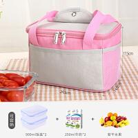 饭盒袋饭袋便当包保温装提饭盒的手提包铝箔加厚学生带饭的手提袋