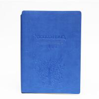 SCM至尚·创美 V32K061 商务笔记本A5记事本 深蓝色 1本装 学生日记本厚本子 当当自营