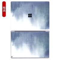 微软Surface Lap贴膜surface book2 13.5寸机身贴纸微软笔记本电脑全套 暗流 AD面