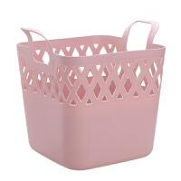 方形镂空脏衣篮家用浴室洗衣篮塑料衣物收纳篮脏衣服收纳筐