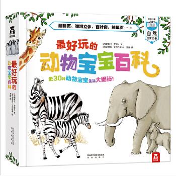 最好玩的动物宝宝百科 3-6岁  近30种动物宝宝生活大揭秘!用立体、翻翻、拉拉卡,寻找生命繁衍不息的真相吧!乐乐趣科普立体书