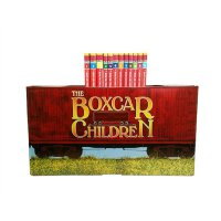 The Boxcar Children Bookshelf [Books 1-12]棚车少年(12册,含海报及书签)IS
