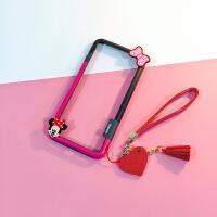 可爱卡通iPhoneX边框防摔壳苹果7/8手机壳6s硅胶软套7plus女款潮 6p/6sp(5.5寸) 米尼
