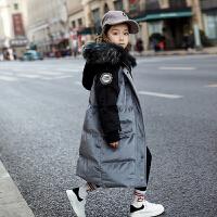 儿童棉服中长款2018新款宝宝冬季外套童装女孩