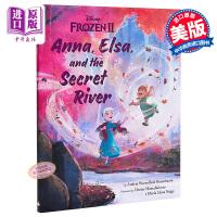 【中商原版】迪士尼:冰雪奇缘2Frozen 2 英文原版 4~7岁 绘本图书