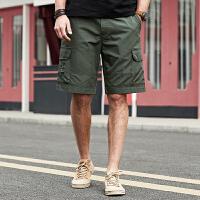Jeep/吉普官方正品休闲短裤P212MWP099