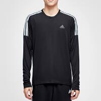 adidas阿迪达斯男子长袖T恤跑步训练运动服CZ8097