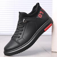 宜驰 EGCHI 休闲皮鞋子男士户外运动系带潮流耐磨舒适鞋子男 K5908