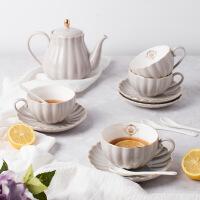 陶瓷茶具英式下午茶壶配咖啡杯碟套装13件套礼盒 13件