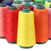 常用色402缝纫线手缝线宝塔线缝衣服线缝纫机线平车细线家用大卷