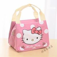 可爱手提饭盒袋保温袋 便当包饭盒包手提袋帆布包带饭包