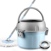 免手洗拖把带桶家用旋转通用单桶拖布自动甩水拖地