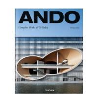 Ando安藤忠雄作品全集2019年新版 1975至今的建筑设计作品 英文原版 精装大开本