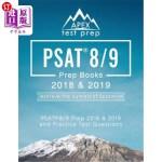 【中商海外直订】PSAT 8/9 Prep Books 2018 & 2019: PSAT 8/9 Prep 2018