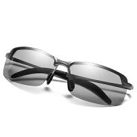 太阳镜男司机驾驶墨镜日夜两用变色眼镜偏光镜钓鱼开车