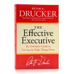 有效的执行The Effective Executive 英文原版管理学 卓有成效的管理者 英文版进口书 Drucke