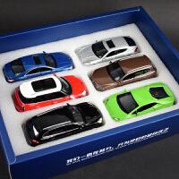 儿童玩具汽车模型儿童玩具车模型合金跑车回力仿真男孩小汽车宝宝礼物办公室摆件盒套装