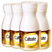 【领券1件9折2件8折 60片/盒*4盒】惠氏金钙尔奇(Caltrate)d添佳片维d无糖钙片 中老年成人孕妇男女补钙