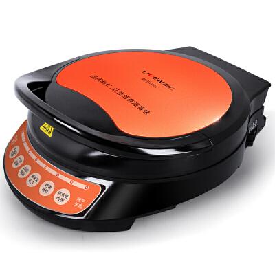 利仁 LRT-310C 电饼铛 电脑版【货到付款】支持礼品卡 30CM大烤盘 语音电脑 8大菜单,六点导油槽