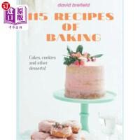 【中商海外直订】115 Recipes of Baking: The Most Delicious Baking Rec