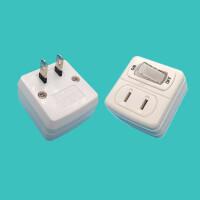 【教师节礼物】插座 旅行日本插座插头转换器旅行带开关JET转换插排二两孔插线板电源创意