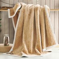 毛毯加厚保暖珊瑚绒被子法兰绒盖毯沙发毯子冬季毛绒床单加绒男女