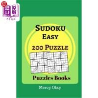 【中商海外直订】Sudoku Easy 200 Puzzle Puzzles Books: Easy Suduko P