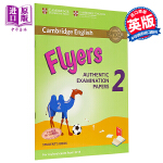 【中商原版】剑桥少儿英语第三级2(YLE Flyers)真题集:学生书(适合2018年起的考试)英文原版 Cambri