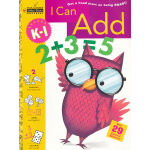 I Can Add Grade K-1 (Little Golden Book) 提前一步学加法(金色童书,学龄前练习册)9780307035905