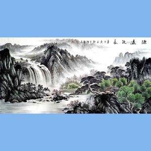 中国美术家协会会员,龙云书画院院长候桂峰(源远流长)