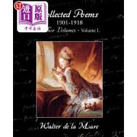 【中商海外直订】Collected Poems 1901-1918 in Two Volumes - Volume I