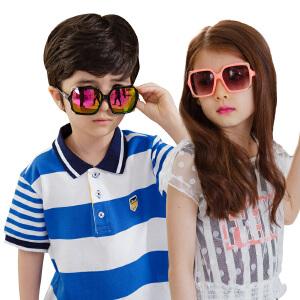 韩国夏儿童太阳镜男童女童墨镜学生宝宝墨镜小孩眼镜潮3-10岁