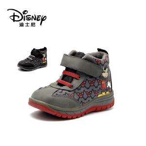 【达芙妮集团】迪士尼 冬款男童扣带魔术米妮休闲鞋