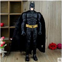 18寸蝙蝠侠3手办模型 电影版黑暗骑士崛起 可动人偶42CM