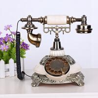 复古电话机 欧式电话家用美式无线插卡固定办公古董复古电话机座机