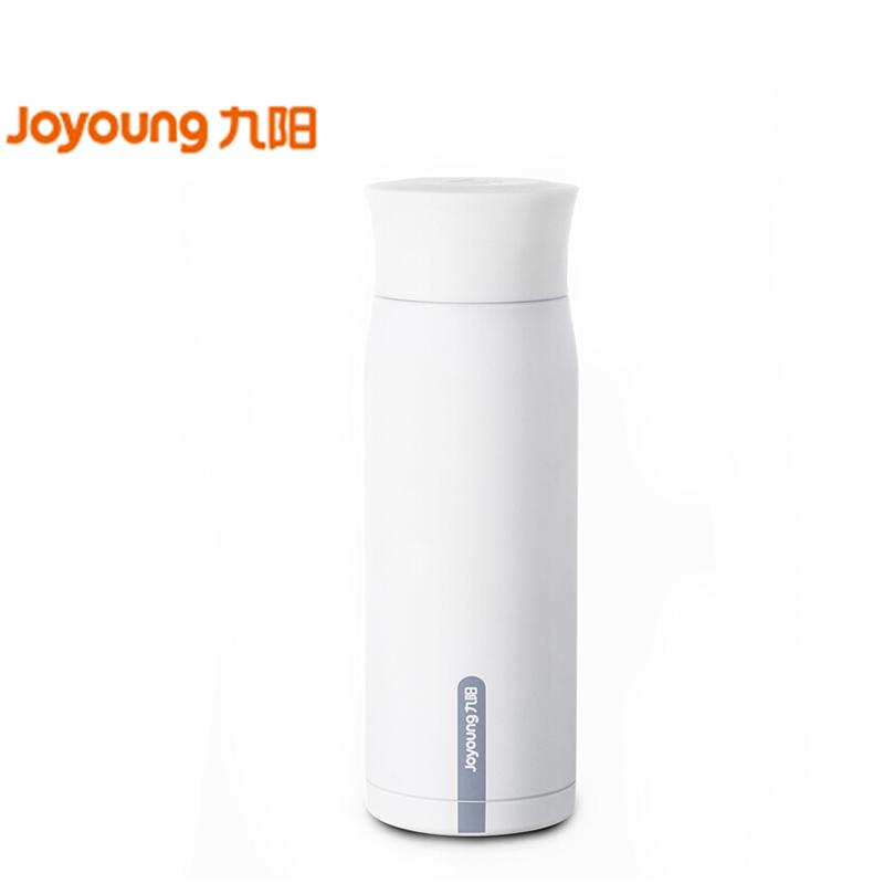 九阳(Joyoung)保温杯水杯随手杯子316L奥氏体不锈钢内胆材质时尚BB肌300ml 白色款B30V3A 24小时保温保冷 316L不锈钢