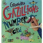 【预订】Grandpa Gazillion's Number Yard 9781250095374