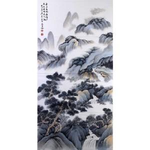 中国美协会员,中国书协会员 侯桂峰(山水1)18