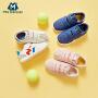 【限时3件3折价:72】迷你巴拉巴拉童鞋男童女童运动鞋2019秋新品魔术贴跑步鞋