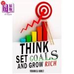 【中商海外直订】Think, Set Goals and Grow Rich