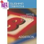 【中商海外直订】Maths Worksheet for Grade 3 Volume 2: Addition