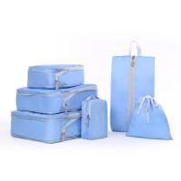 旅行收纳袋行李箱衣服收纳包整理袋内衣鞋子防水旅游便携套装分装