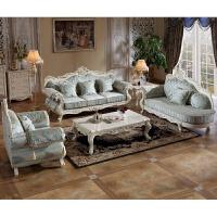 品质保证 7天无理由退换家具欧式布艺沙发组合客厅沙发可拆洗实木法式沙发