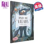 【中商原版】坏蛋的构造 英文原版 Inside the Villains 儿童幻想 翻翻书 互动游戏书