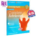 【中商原版】剑桥CAE考试完全备考练习册(含答案和音频)(适合自学)英文原版 Complete Advanced Wo