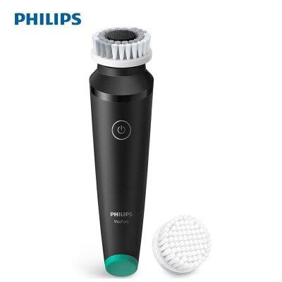飞利浦(PHILIPS)男士洁面仪MS5039 防雾霾洁肤仪洁面刷洗脸仪 黑色 不支持充电式 内置电池充电深层清洁 续航持久,全身水洗,双重振旋科技