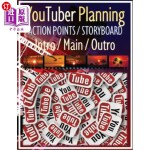 【中商海外直订】YouTuber Planning Action Points Storyboard Intro /