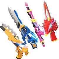 迷你特工队男孩玩具变形刀剑米米特攻队