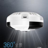 全景摄像头VR鱼眼全景可以手机监控高清摄像机无线wifi手机远程一体机 内存64GB 清晰度1080p 焦距2.8mm