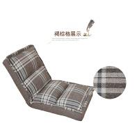 床上懒人椅棉躺椅懒人沙发小单人可折叠卧室阳台榻榻米看书喂奶飘窗床上靠背躺椅子